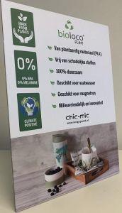 Presentatiebord BioLoco PLANT