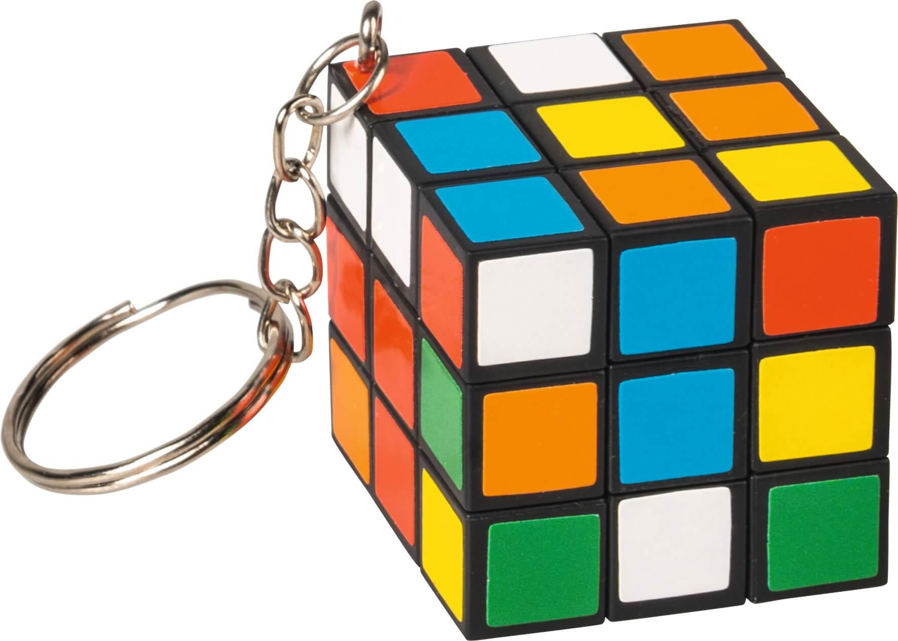 Sleutelhanger puzzelkubus
