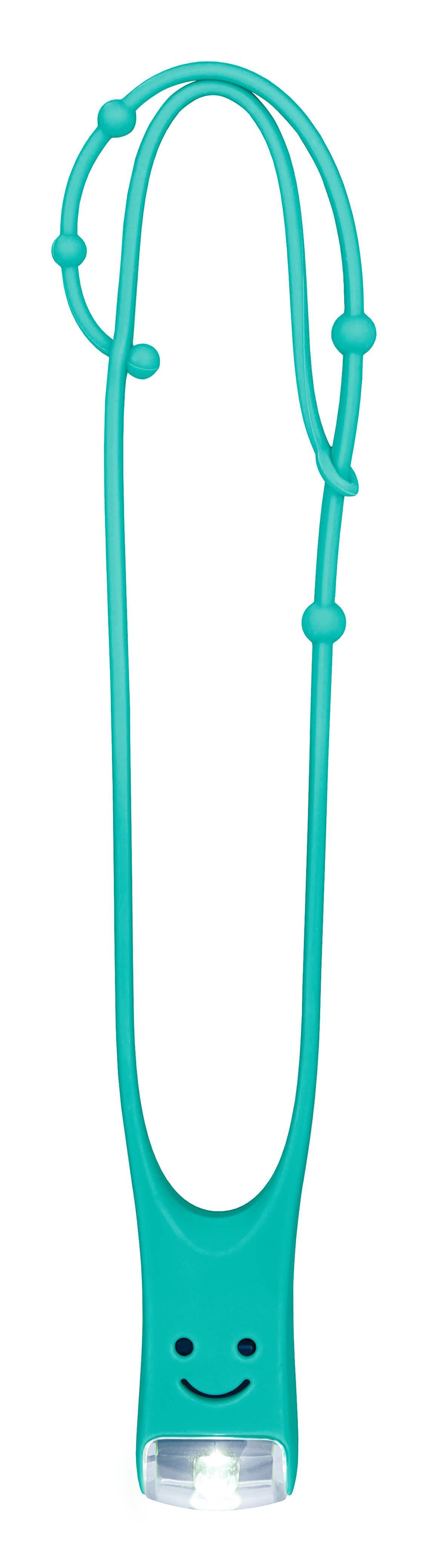 Kinder leeslampje verstelbaar turquoise