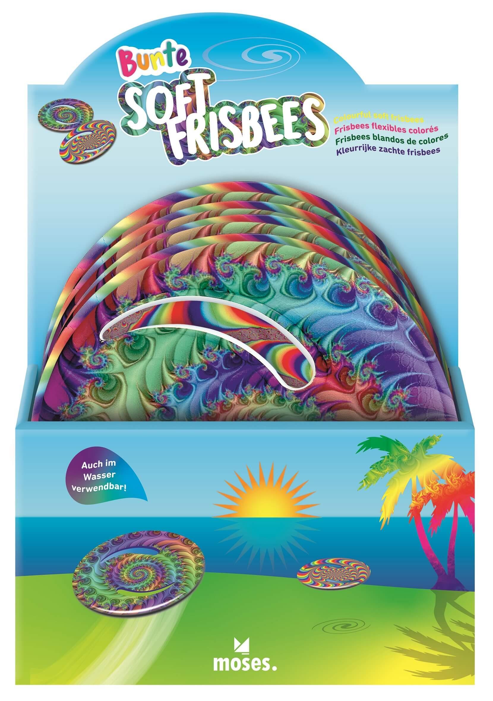 Soft frisbee 2 assorti