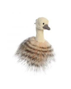 Luxe Boutique Sadira struisvogel sleutelhanger 13 cm