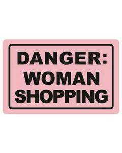 Moneyguard danger, woman shopping